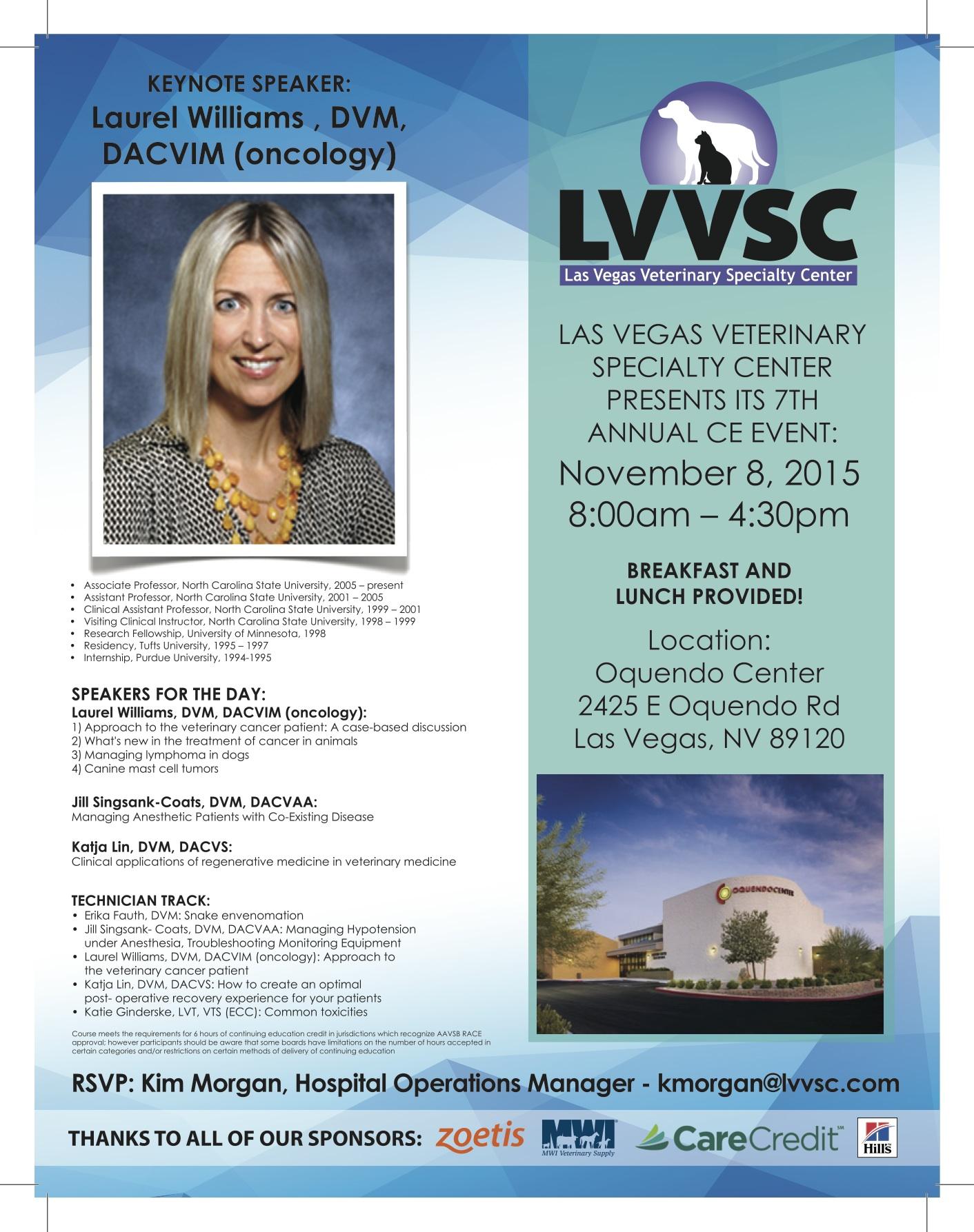 LVVSC (8th mailer) Laurel Williams 8.5 x 11 FINAL